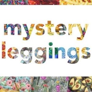 2 LuLaRoe OS & TC leggings - Mystery Pick NWOT